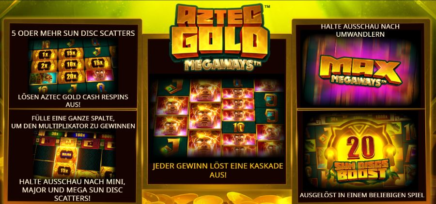 Aztec Gold Megaways Bonus