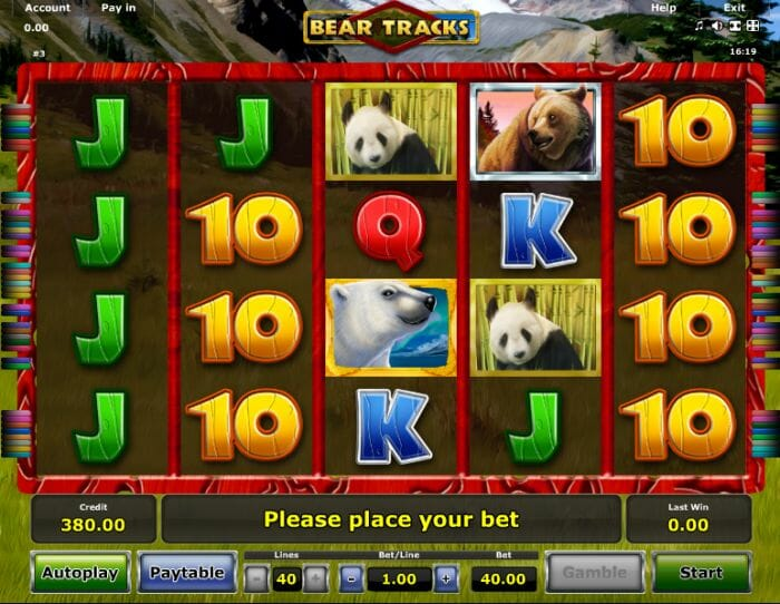 Bear Tracks Slot