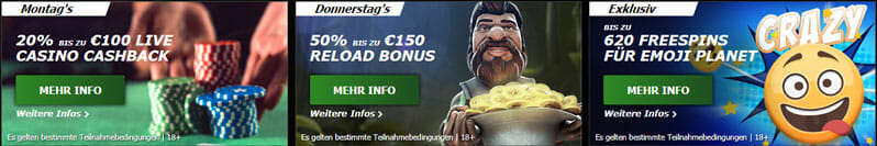 Bet90 Casino Promotions