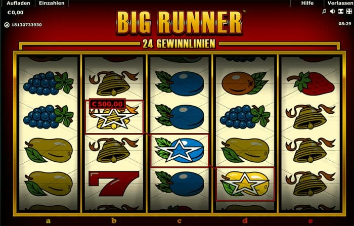 big runner spielen