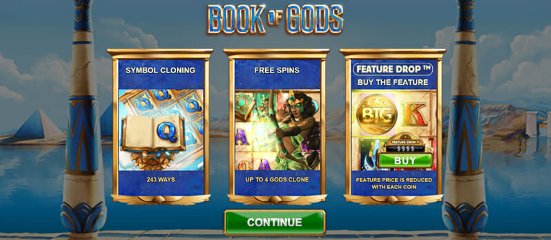Book Of Gods Bonus