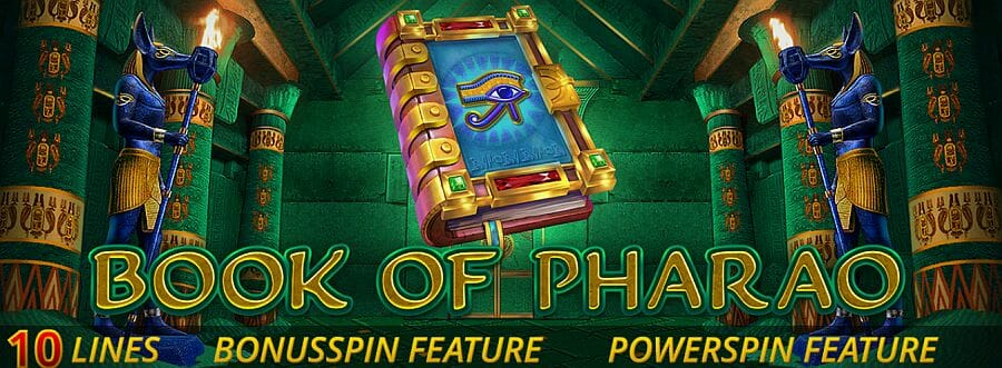 Book of Pharao Bonus