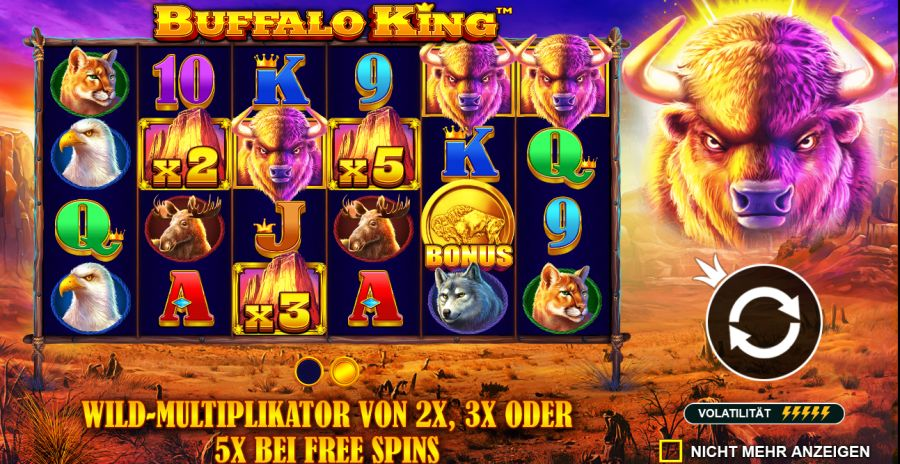 Buffalo King Bonus