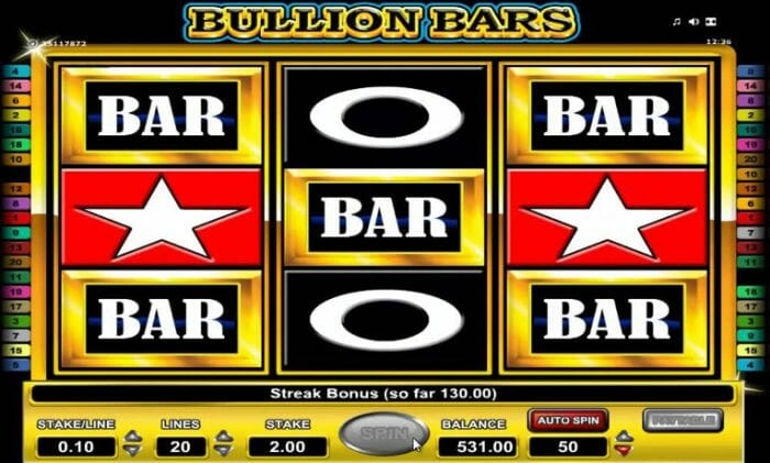 Bullion Bars Slot