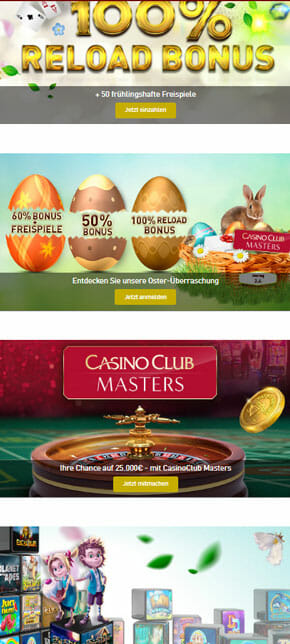 Casinoclub Promos