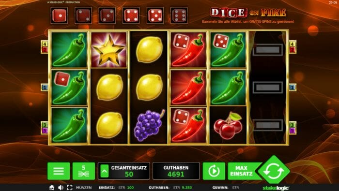Dice on Ice Slot