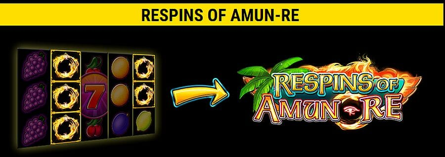Fancy Fruits Respins of Amun Re Vorschau
