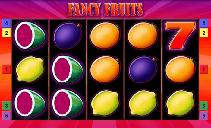Fancy Fruits Vorschau