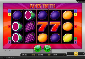 Fancy Fruits | Der fruchtige Gamomat Slot ...