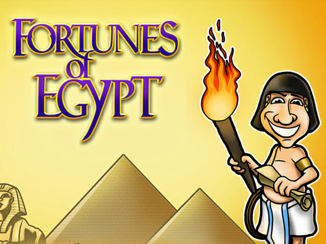 Fortunes of Egypt Logo