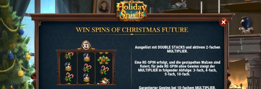 Holiday Spirits Bonus
