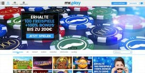 Mr Play Casino Vorschau