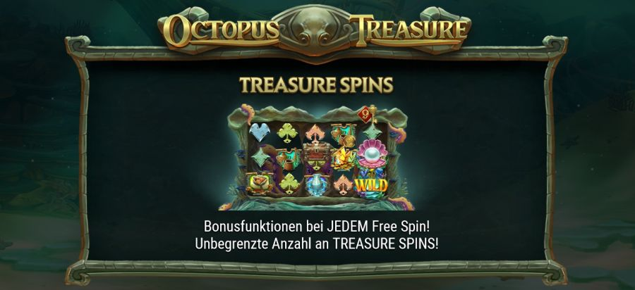 Octopus Treasure Bonus