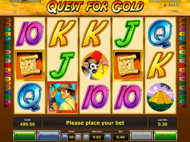 Quest for Gold Slot