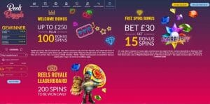 Reels Royale Casino Promotionen
