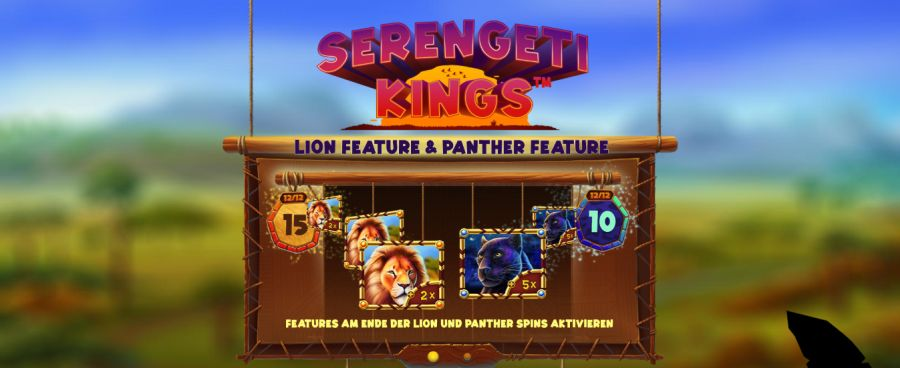 Serengeti Kings Bonus