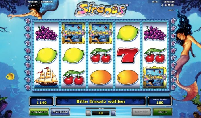 Sirenas Slot