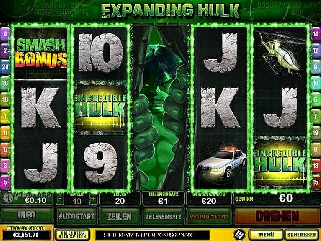 The Incredible Hulk spielen